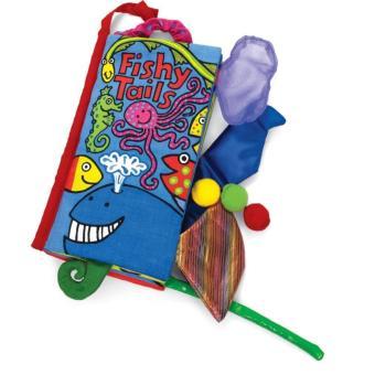 Sách vải Jollybaby Fishy Tails cho bé chơi mà học