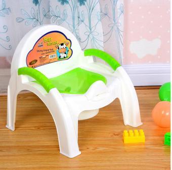 Bô ghế vệ sinh cho bé (Xanh lá)