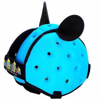 Mũ Bảo Hiểm Bảo Vệ Đầu Tập Bò Tập Đi Cho Bé HeadGuard (Xanh Dương Nhạt)