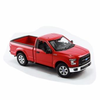 Xe mô hình V&G FORD F-150 2015 REGULAR CAB RED 1:24 WELLY