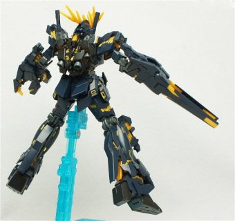 Mô Hình Lắp Ráp BANDAI High Grade Universal Century Rx-0 Unicorn Gundam 02 Banshee Destroy Mode.