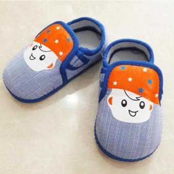 Giày Đế Nhựa Bé Trai PKGI221 (XANH)(Blue 16)