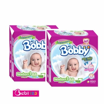 Combo 2 Gói Tã Dán Sơ Sinh Bobby Newborn1-88