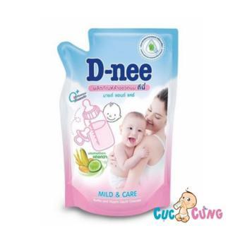 Nước rửa bình sữa Dnee Gói 600ml