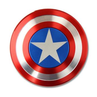 Con quay spinner kim loại captain american (Xanh phối đỏ)