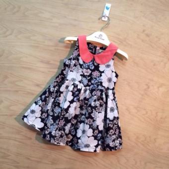 Váy xòe hoa thiết kế Obeah