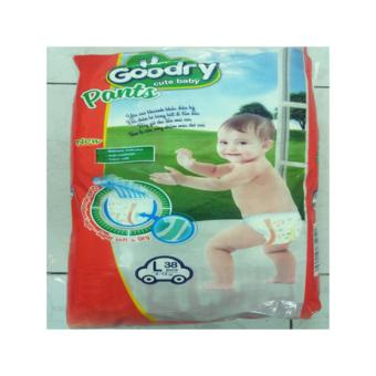 Mua Tã quần Goodry size L (9-14kg) 38 miếng giá tốt nhất