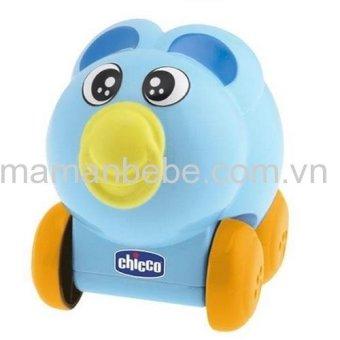Đồ chơi lăn bánh phát nhạc hình Gấu xanh Chicco 114711.