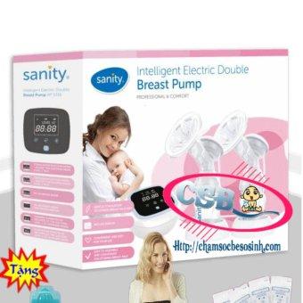Máy hút sữa Sanity điện đôi AP5316 + Tặng 3 bộ quà tặng giá : 760.000
