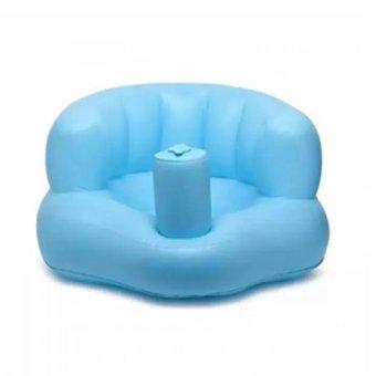 Ghế hơi tập ngồi tiện dụng cho bé (Xanh lá nhạt)