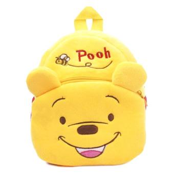 Balo gấu pooh vàng loại nhỏ