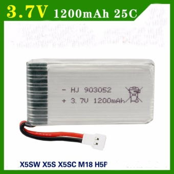 Pin Máy Bay Điều Khiển Dung Lượng Cao 1200mAh ( X5 X5S X5C X5SW X5SC... )