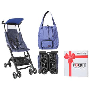 Xe đẩy em bé du lịch GB POCKIT (Vải Jeans)