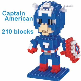 Bộ ghép hình LEGO STYLE - CAPTAIN AMERICAN