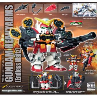 Bộ lắp ráp SDGO Gundam HeavyArms (SD Gundam) - Bandai 057615