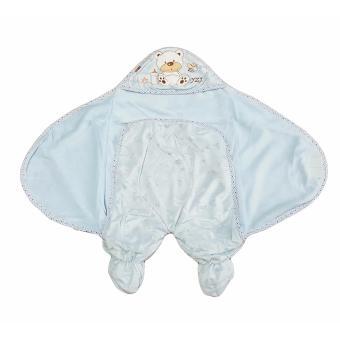 Khăn quấn em bé Gấu xanh