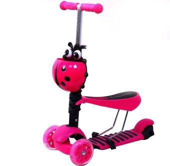 Xe trượt Scooter 3 trong 1 (Hồng)