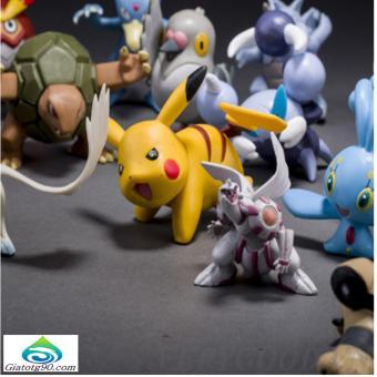 Bộ 72 tượng thú Pokemon Go cao 2-3cm ngẫu nhiên 206391 (nhiều màu)