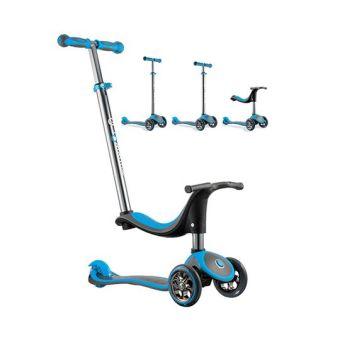 Xe trượt scooter GLOBBER MY FREE 4 IN 1 (Xanh da trời)