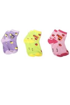 Bộ 3 đôi vớ cho bạn nữ và bé gái SoYoung 3TAT GIRL 001