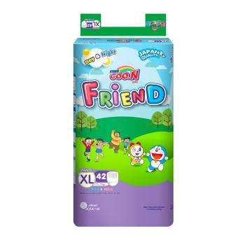 Bộ 4 tã quần goon Friend XL42