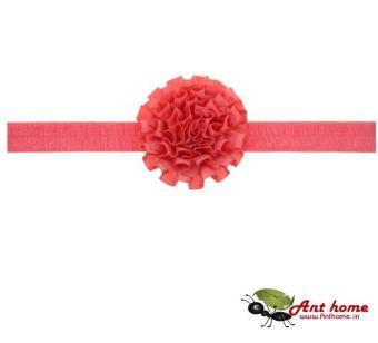 Băng đô cao cấp phụ kiện tóc cho bé yêu AHBĐ10 (hồng đỏ)