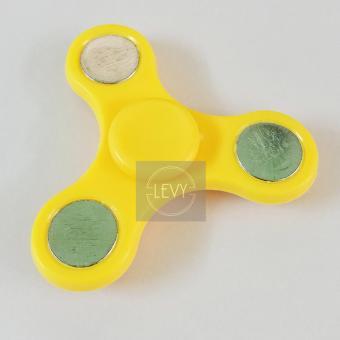 Con quay trò chơi giảm stress 3 cánh mini (Vàng)