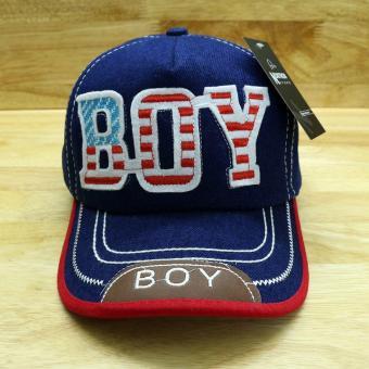 Nón trẻ em Boy( Xanh )