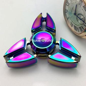 Con quay Fidget Spinner 3 cánh phi tiêu 7 màu cực chất