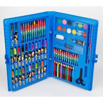 Bộ bút chì màu 86 món (xanh dương)