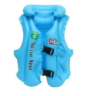 Áo phao bơi trẻ em Swim Vest (Xanh)