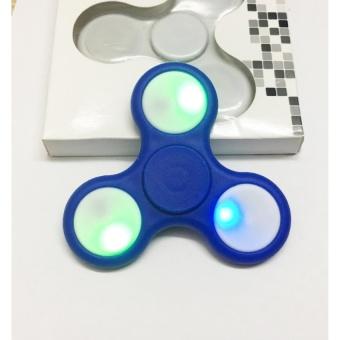 Đồ Chơi Con Quay Giúp Giảm Stress Fidget Spinner Đèn Led
