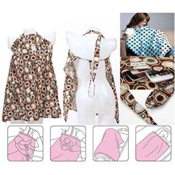 Áo choàng cho bé bú (khăn che bé bú) Angel Rabbit Nursing Covers