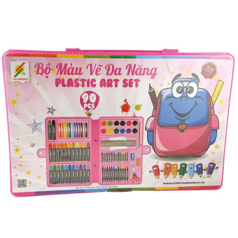 Bộ màu vẽ đa năng Colormate P 90 (Hộp nhựa)