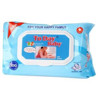 Giấy ướt Today Baby 100 tờ (không mùi)