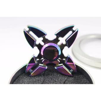 Con quay Fidget Spinner phi tiêu 4 cánh phi tiêu 7 màu