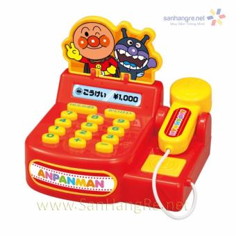 Máy Tính Tiền Thị Anpanman Mini Chạy Pin Phát Tiếng
