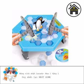 Bộ trò chơi đập ô cứu Chim Cánh Cụt BH989