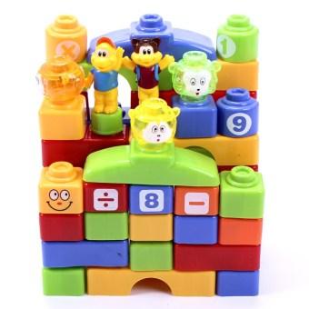 Đồ chơi xếp hình kích thích trí não cho bé 3005 48 chi tiết bằng nhựa