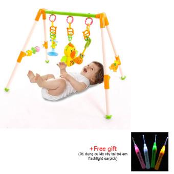 Kệ đồ chơi kiểu chữ A cho trẻ sơ sinh+ tặng 01 dụng cụ lấy ráy tai flashlight earpick