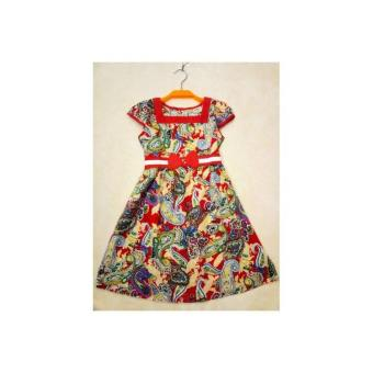 Váy lanh bé gái