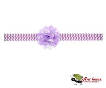 Băng đô cao cấp phụ kiện tóc cho bé yêu AHBĐ8 (hồng tím)
