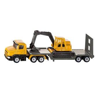 Đồ chơi xe tải sàn thấp và xe xúc SIKU 1611
