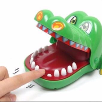 Bộ trò chơi khám răng giúp cá sấu chúa Flamme (Xanh)