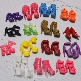 set 12 giày búp bê