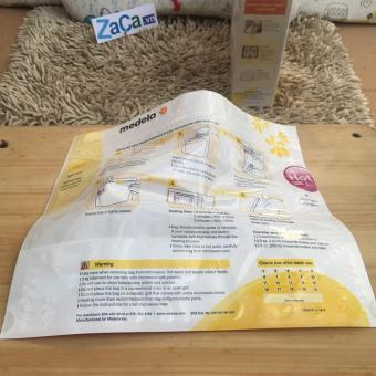 Bộ 3 Túi tiệt trùng bình sữa lò vi sóng MEDELA chính hãng, 1 túi tiệt trùng được 20 lần