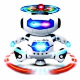 Robot Thông Minh Xoay 360 Độ Nhảy Theo Điệu Nhạc