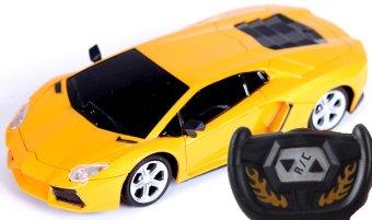 Ô tô điều khiển từ xa kiểu dáng thể thao R/C No.1009 (Vàng)