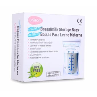 Bộ 30 Túi đựng sữa mẹ UNIMOM COMPACT 210ML
