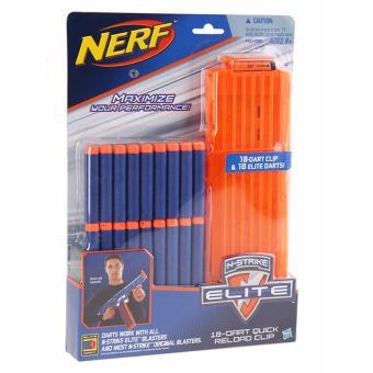 Băng đạn đồ chơi Nerf N-Strike Elite kèm theo 18 viên